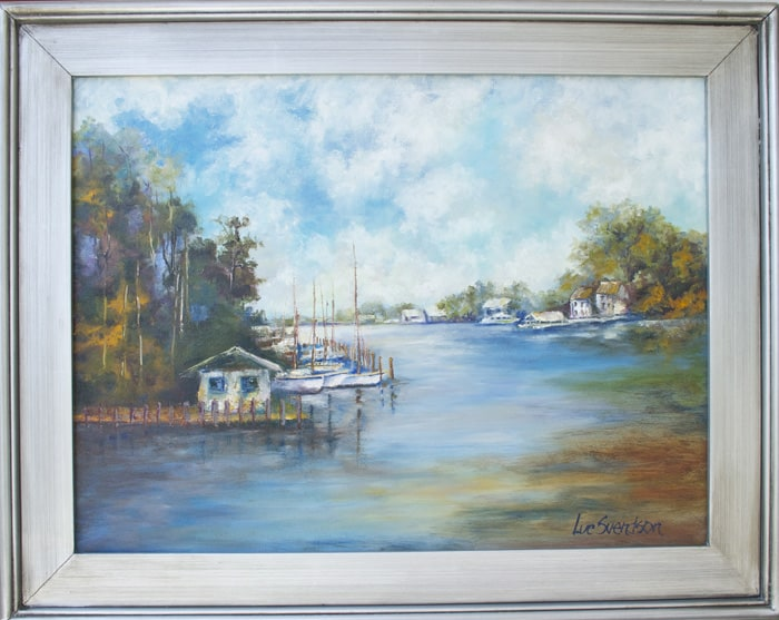 Boats on the Bayou
