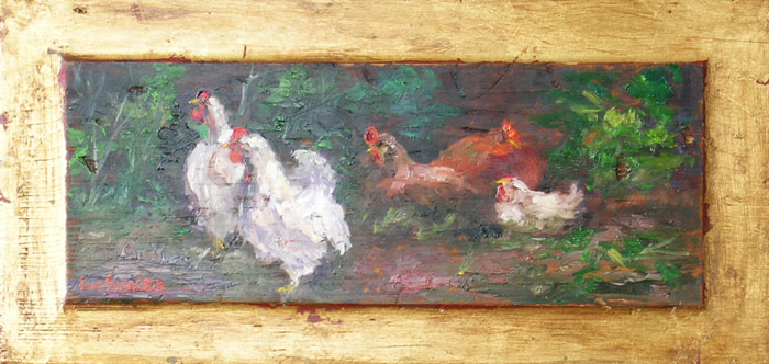 Five Chickens